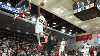Huskers Flunk First Test at St. John's