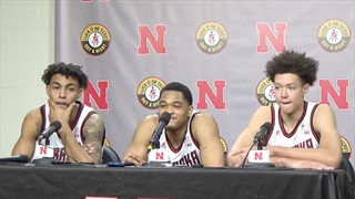 WATCH: Huskers Feeling Good Following 72-52 Rout of Michigan