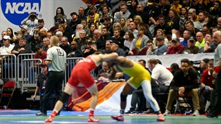 Two Huskers in the Quarterfinals at NCAA Championships