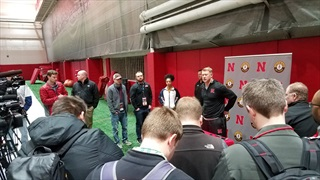 Huskers Get Off to a Good Start on First Day of Spring Football