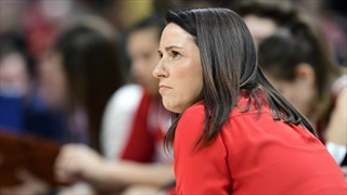 Huskers Don't Get Enough Boards, Nor Make Enough Shots, to Beat ASU