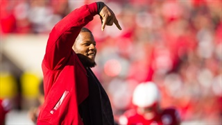 Ndamukong Suh Saw the Future with Frost at Nebraska 3 Years Ago