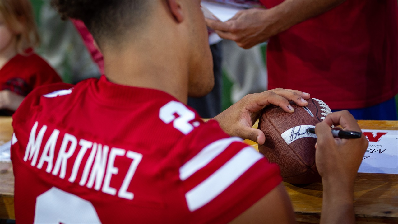 Huskers Set Dates for Fan Day, Start of Fall Camp