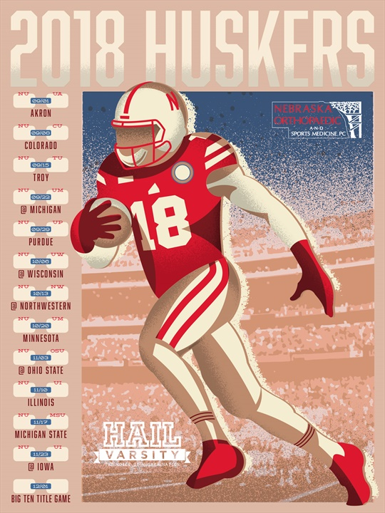 Where To Get Your 2018 Hail Varsity Schedule Posters | Hail