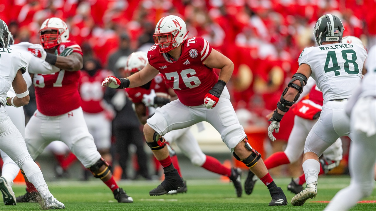 Left Tackle Brenden Jaimes Back to Practice on Wednesday