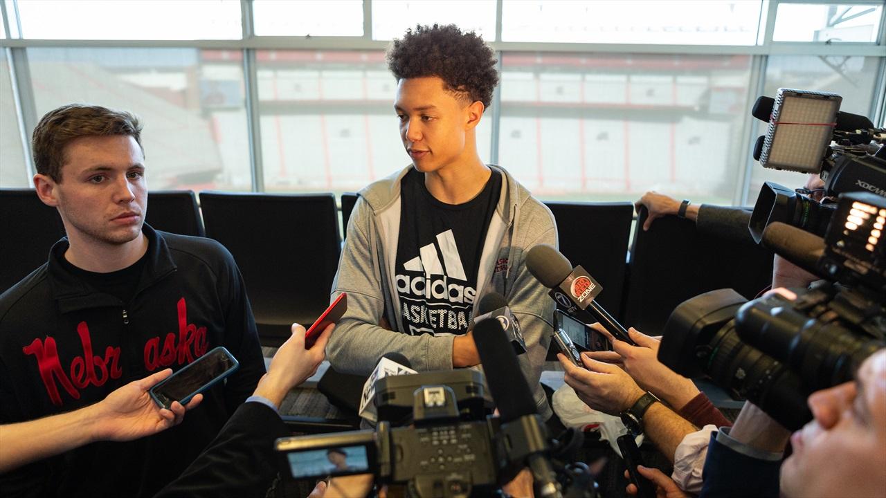 Isaiah Roby, Johnny Trueblood Consider Futures with Nebraska