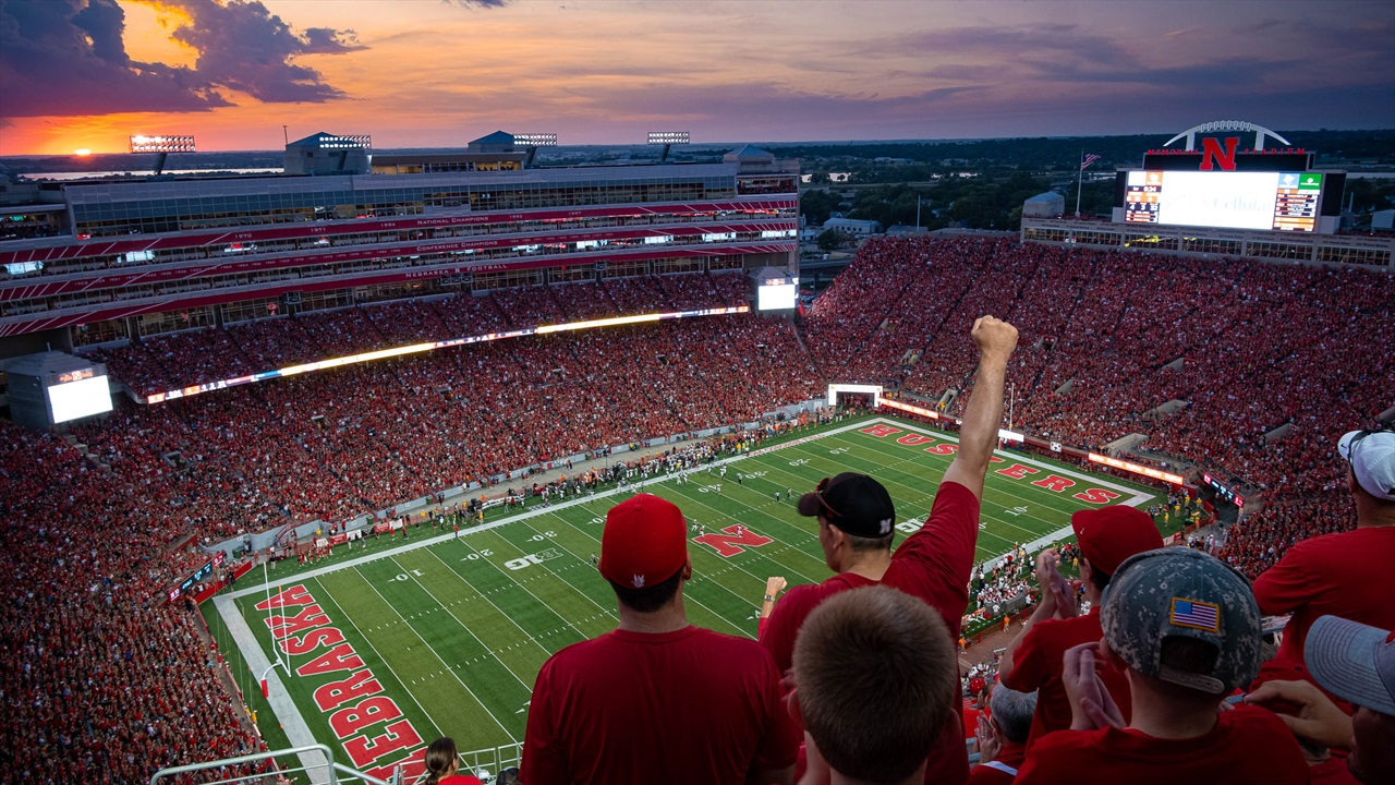 LOOK: Husker Fans Take In Win over Northern Illinois