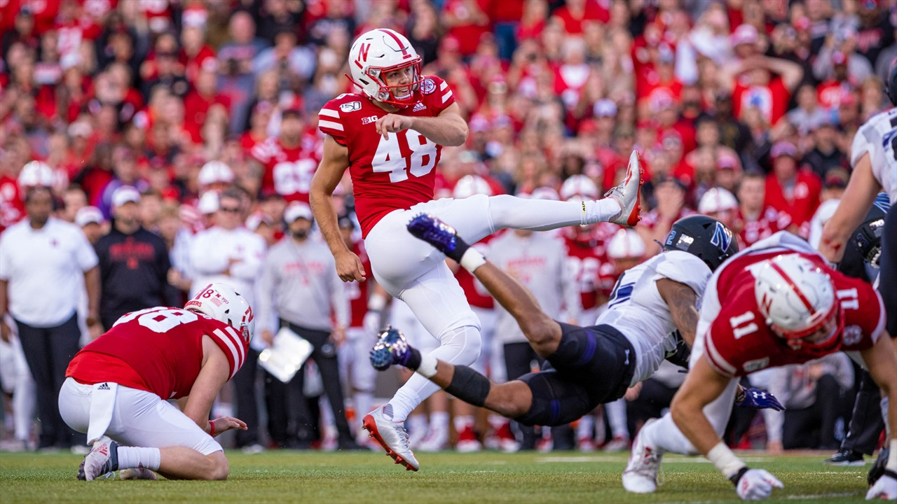 Midterm Report Cards: Kickers and Nebraska's Special Teams